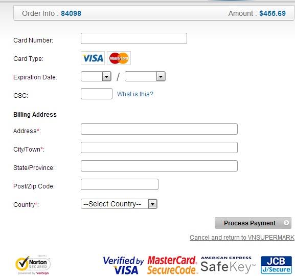 Mua thẻ Gate bằng Visa 2