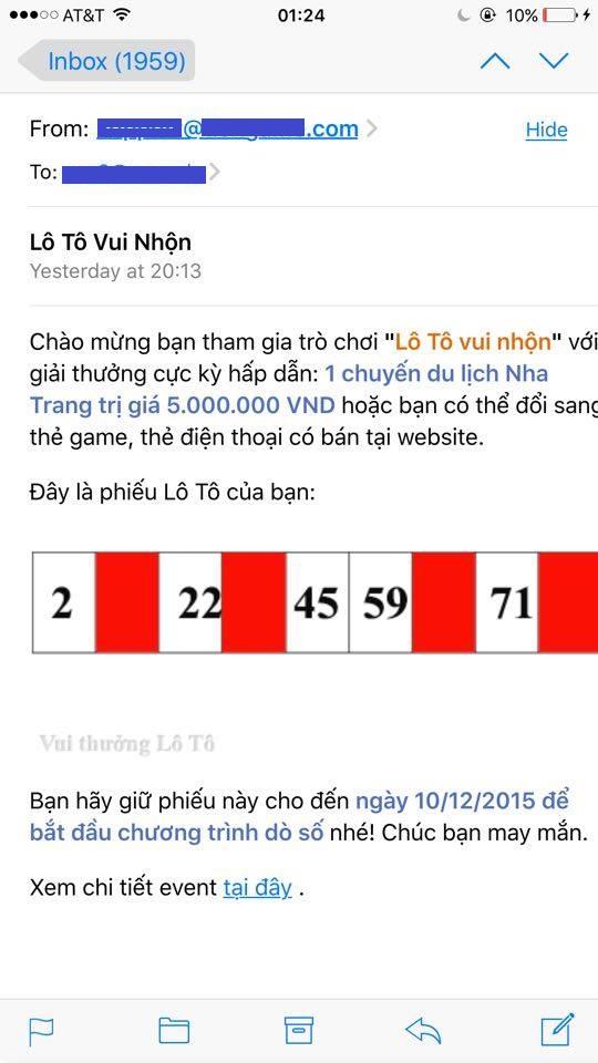 Hot boy may mắn trúng chuyến du lịch Nha Trang của Gamecard.vn 5