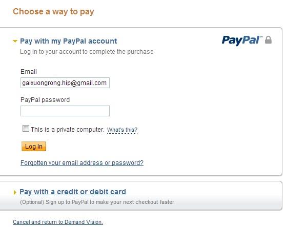 Mua thẻ game online bằng paypal ở nước ngoài 3