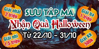 Bùng Nổ Event Halloween 2016