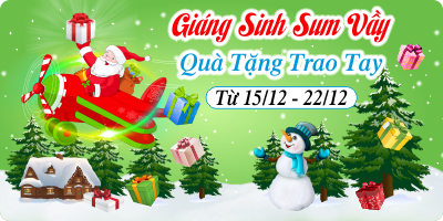 Giáng Sinh Sum Vầy - Quà Tặng Trao Tay