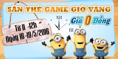 Săn Thẻ Game Online Giờ Vàng Với Giá 0 Đồng