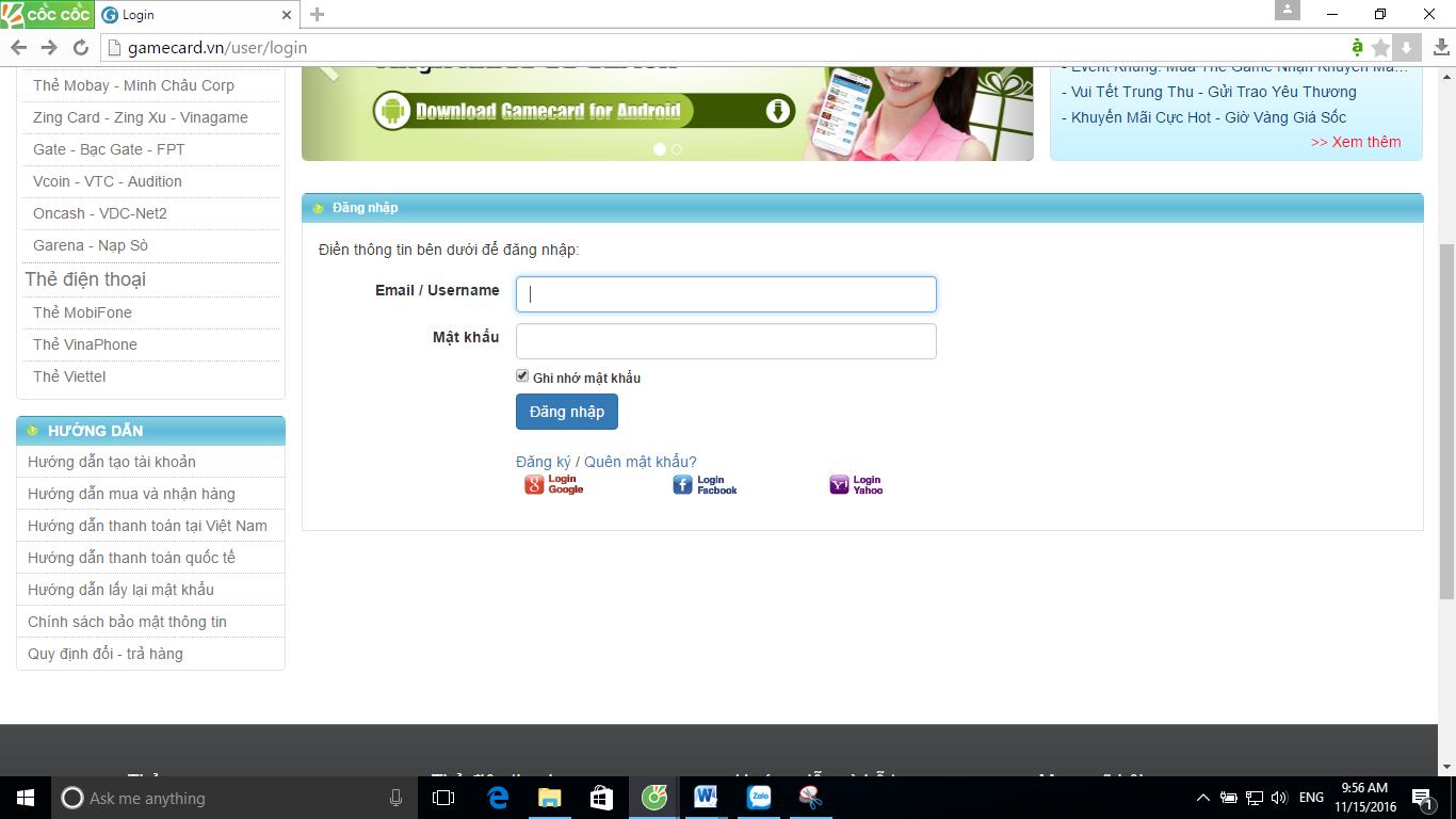 Bạn Đã Biết Mua Thẻ Game Online Trên Gamecard.vn 2