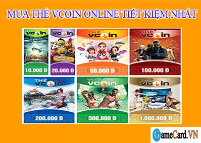 Cách thanh toán khi mua thẻ Vcoin Online tiết kiệm nhất
