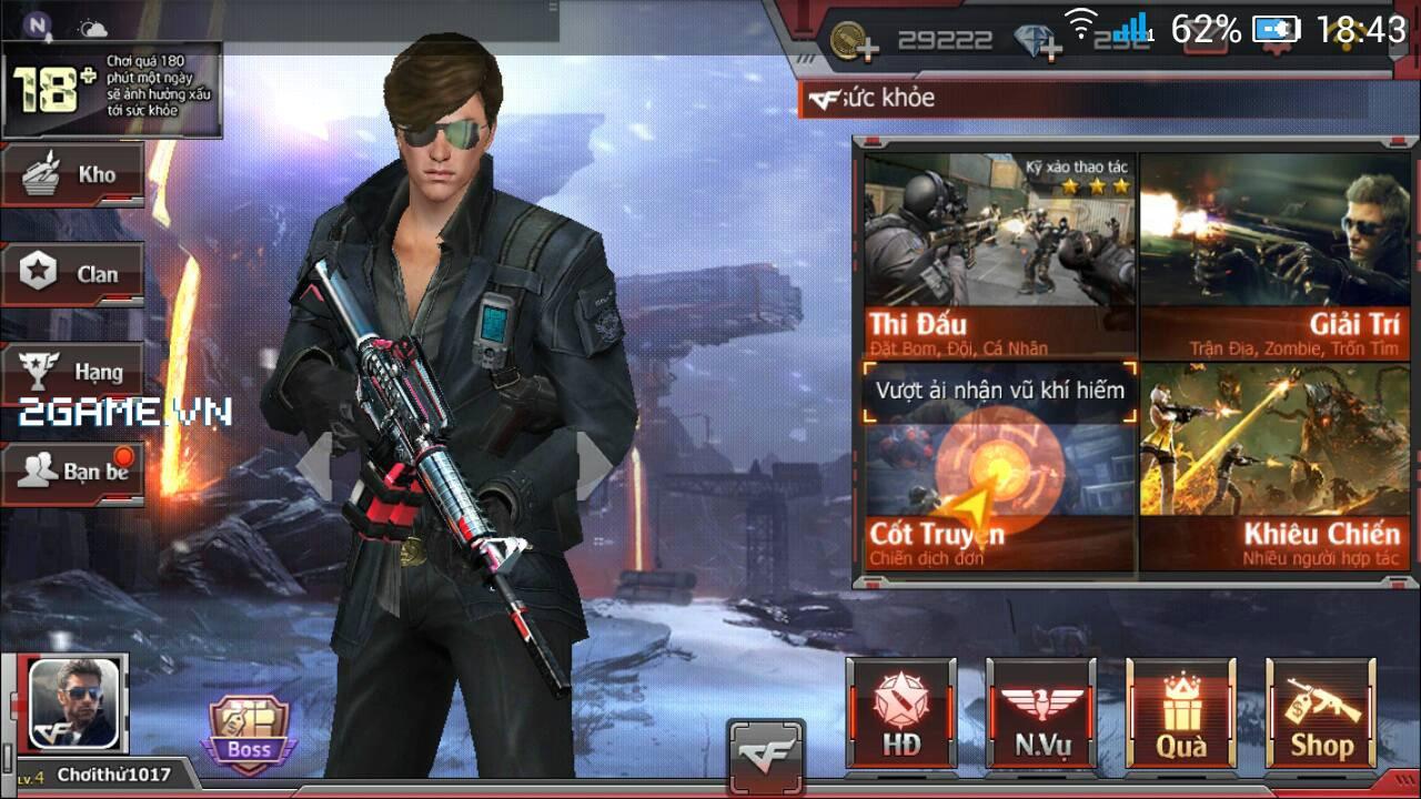 Game bom tấn FPS Crossfire Legends chính thức ra mắt ngày 16/04/2017