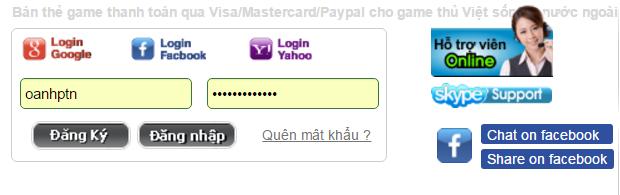 Cách mua thẻ vcoin online khi ở Úc