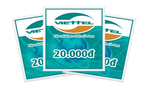Game Của Các Nhà Phát Hành Lớn Vẫn Nạp Được Thẻ Viettel