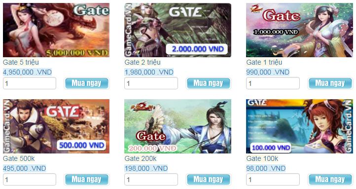 Gamer Ở Úc Có Thể Mua Thẻ Gate Không Tốn Phí Thanh Toán
