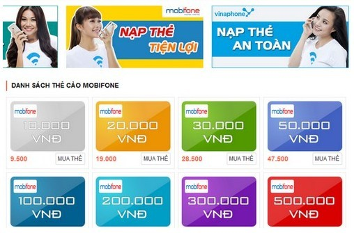Hướng Dẫn Mua Thẻ Mobifone Trực Tuyến Giá Rẻ