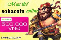 Hướng Dẫn Mua Và Nạp Thẻ Sohacoin Trong Game