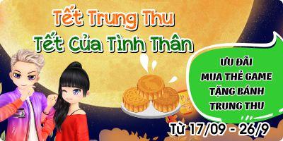 Ưu Đãi Mua Thẻ Game Tặng Combo Bánh Trung Thu Cao Cấp Tại Gamecard.vn
