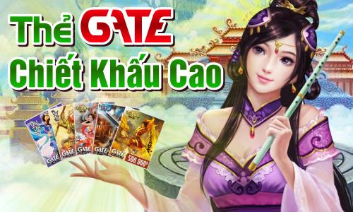 3 lý do mà bạn nên mua thẻ Gate tại Gamecard