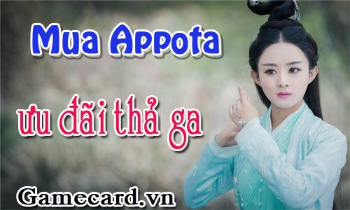 Nhanh Tay Mua Thẻ Appota - Nhận Ngay Ưu Đãi Thả Ga Trên Gamecard.vn