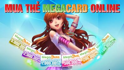 Chơi Game Nào Thì Cần Mua Thẻ Megacard Online