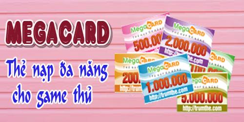 Thẻ Megacard - Thẻ Đa Năng Cho Game Thủ Chơi Game Avatar