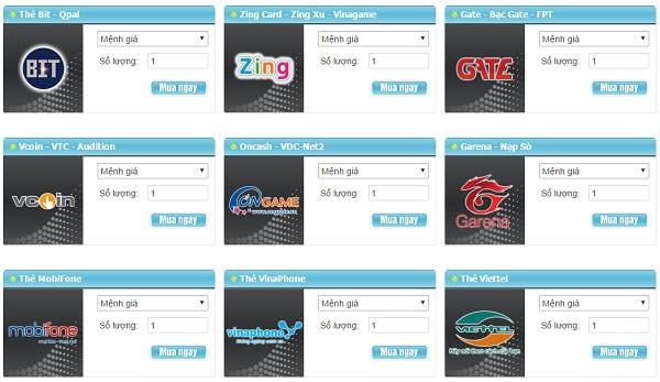 Mua Thẻ Game Online, Xu Hướng Mới Của Game Thủ