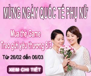 Event 8/3: Ngày Game Thủ Trao Gửi Yêu Thương