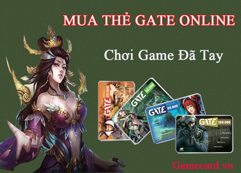 Mua Thẻ Gate Online Thanh Toán Qua Visa Cho Game Thủ Ở Nước Ngoài
