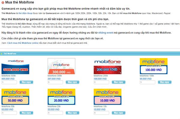 Mua Thẻ Mobifone Online Tại Việt Nam Và Cách Kiểm Tra Tình Trạng Mã Thẻ