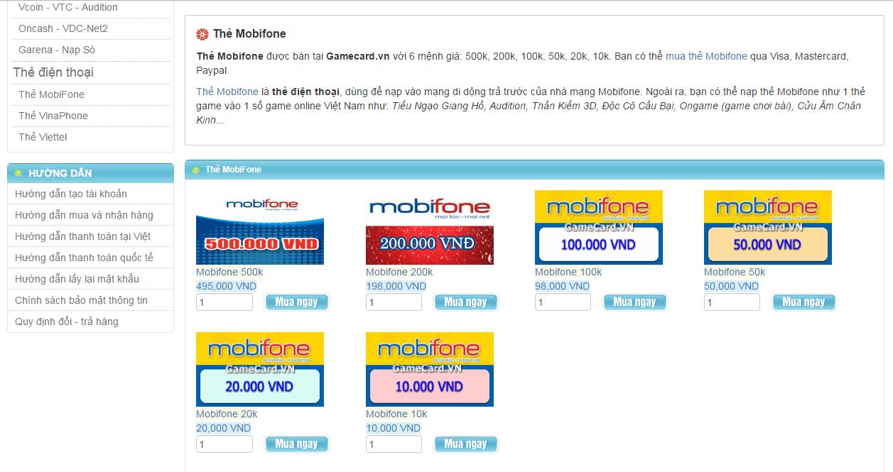 Mua Thẻ MobiFone Online Uy Tín Khi Ở Nước Ngoài 2