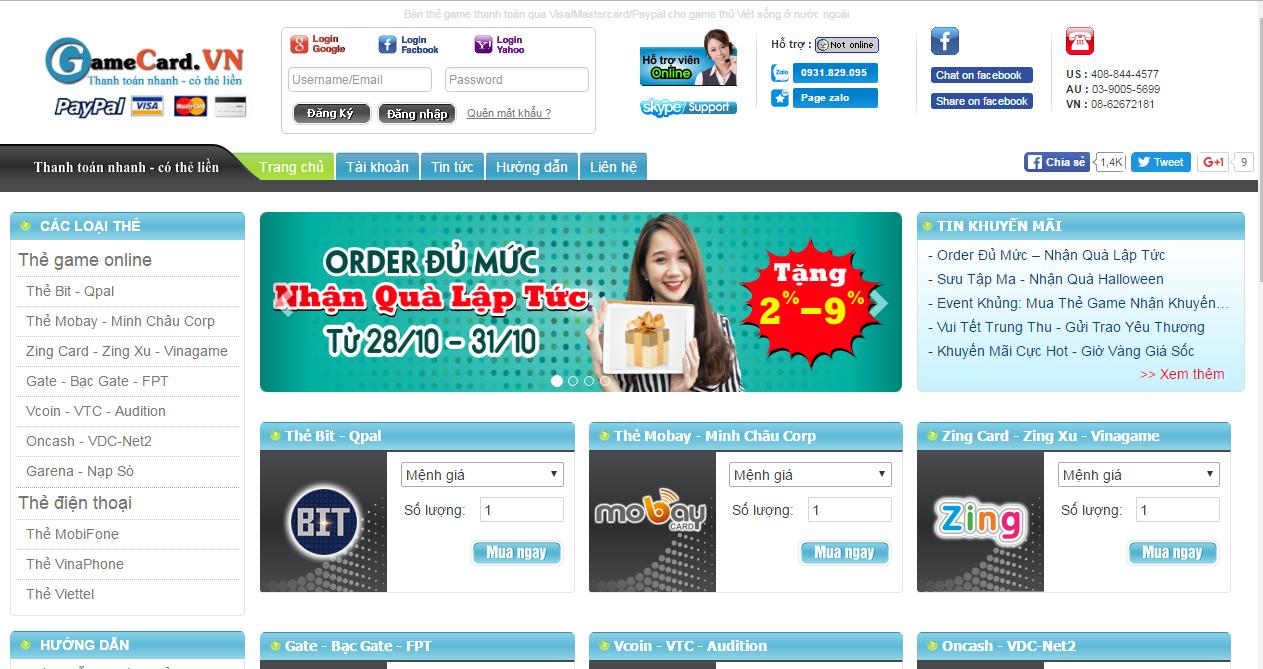 Mua Thẻ MobiFone Online Uy Tín Khi Ở Nước Ngoài 1