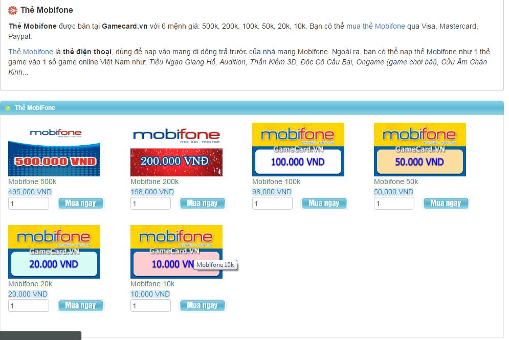 Khám Phá Điểm Nổi Bật Khi Tham Gia Mua Thẻ Mobifone Online