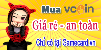 Mua Thẻ Vcoin: Order Ngay Nhận Thẻ Liền Trên Gamecard.vn