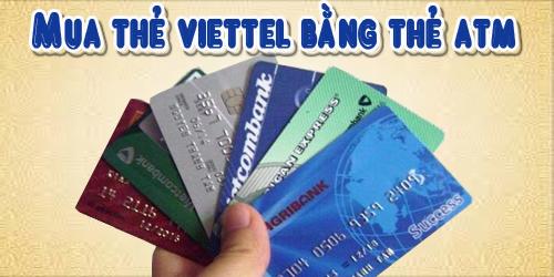 Có ATM Có Ngay Mã Thẻ Khi Mua Thẻ Viettel Trên Gamecard.vn