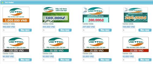 Những Điều Cần Biết Về Thẻ Điện Thoại Viettel