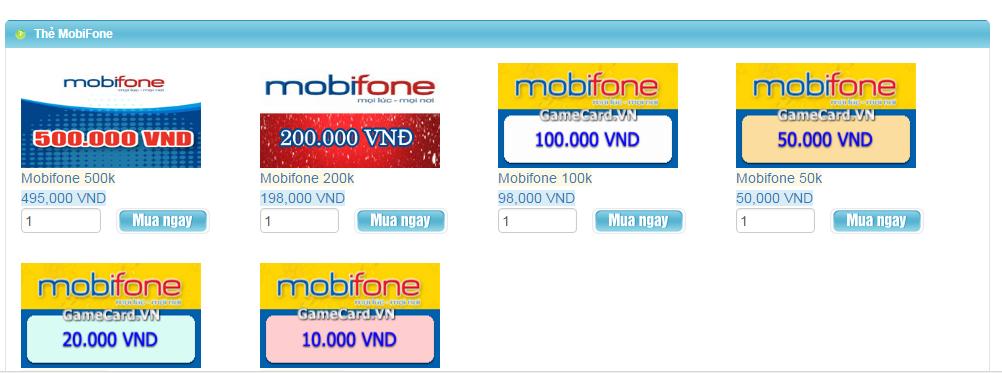 Tại sao mua thẻ mobifone online lại hot đến vậy