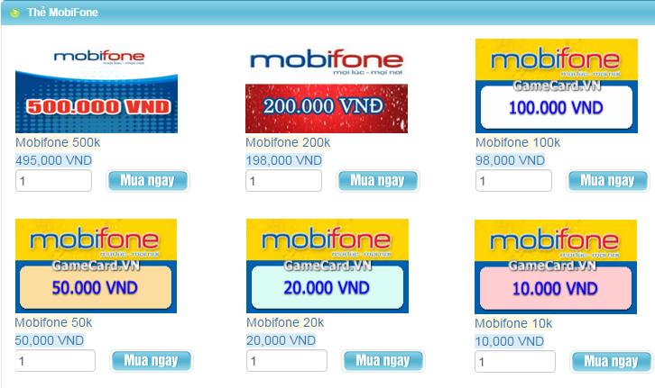Ở Nước Ngoài Mua Thẻ Mobifone Online Như Thế Nào?