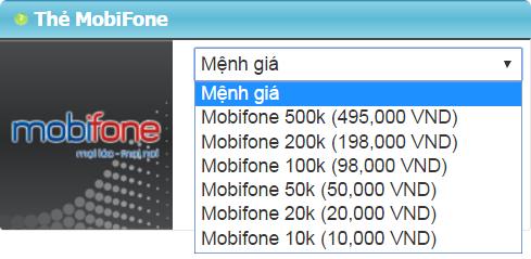 Thẻ Điện Thoại - Mua Thẻ Mobifone Nạp Game Khi Ở Mỹ