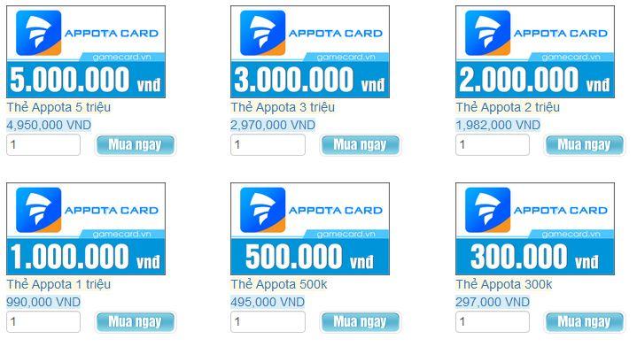 Thẻ Visa Card Có Dùng Để Mua Thẻ Appota Được Không?
