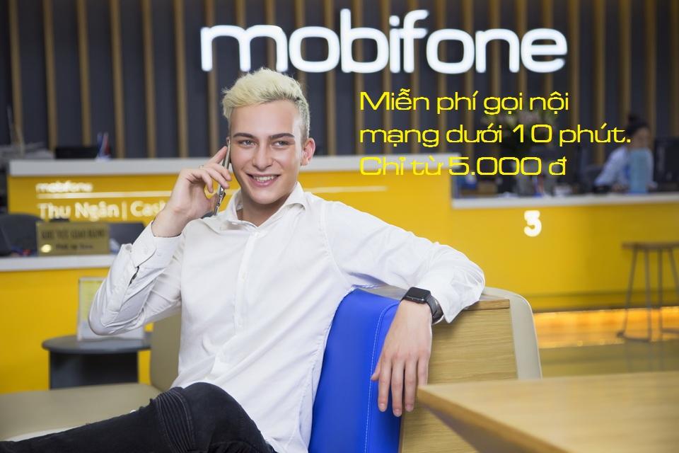 Danh sách cá gói miễn phí gọi nội mạng dưới 10 phút của thẻ Mobifone.