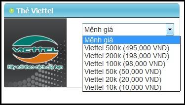 Mua thẻ Viettel online khi ở nước ngoài