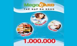 Thẻ Megacard 1 Triệu