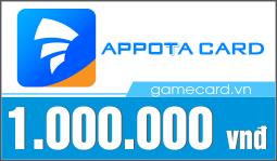 Thẻ Appota 1 triệu