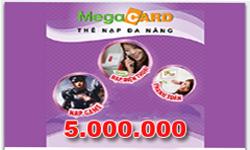 Thẻ Megacard 5 Triệu