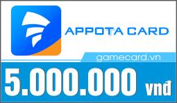 Thẻ Appota 5 triệu