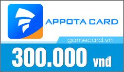 Thẻ Appota 300k