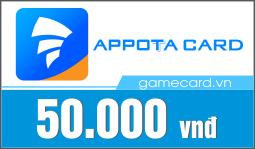 Thẻ Appota 50k
