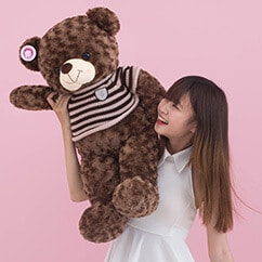 Gấu Bông Teddy Socola 1m1