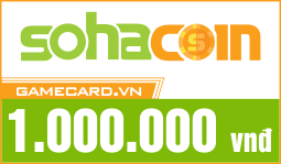 Thẻ SohaCoin 1 Triệu