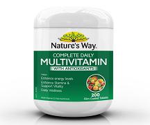Viên Uống Bổ Sung Vitamin Tổng Hợp Complete Daily Multivitamin