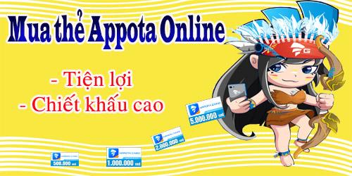Cách mua thẻ appota online khi sống ở nước ngoài