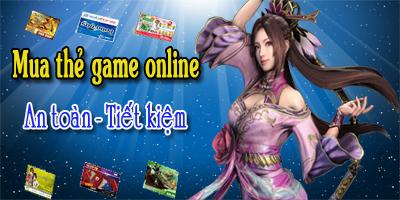 Cách mua thẻ game online nhanh nhất game thủ cần biết