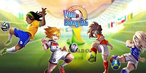 Cùng khám phá tựa game Vua bóng đá cực hot