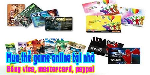 Game thủ hoàn toàn có thể mua thẻ game ngay tại nhà