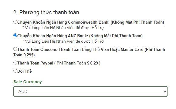 Hướng dẫn mua thẻ game online chuyển khoản anz bank cho gamer ở Úc châu