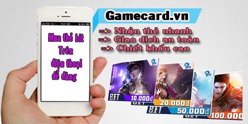 Mua thẻ bit trên điện thoại quá dễ dàng